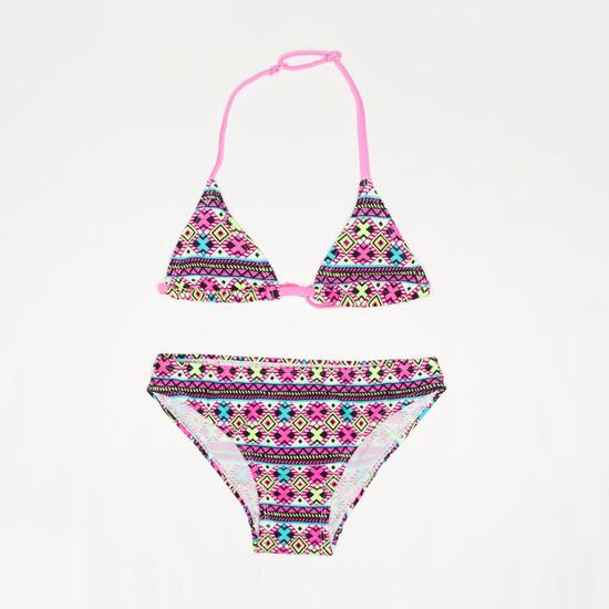Bikini Triángulo SILVER Geométrico Niña (2-8)