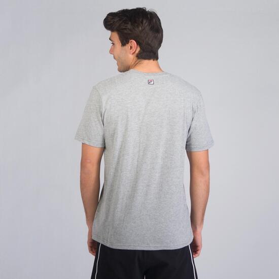 FILA BASIC Camiseta Manga Corta Gris Hombre