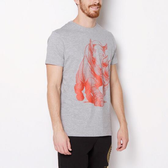 ECKO BIG RHINO Camiseta Gris Hombre