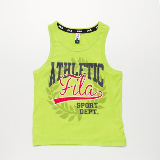 FILA BASIC Camiseta Tirante Pistacho Niño (2-8)