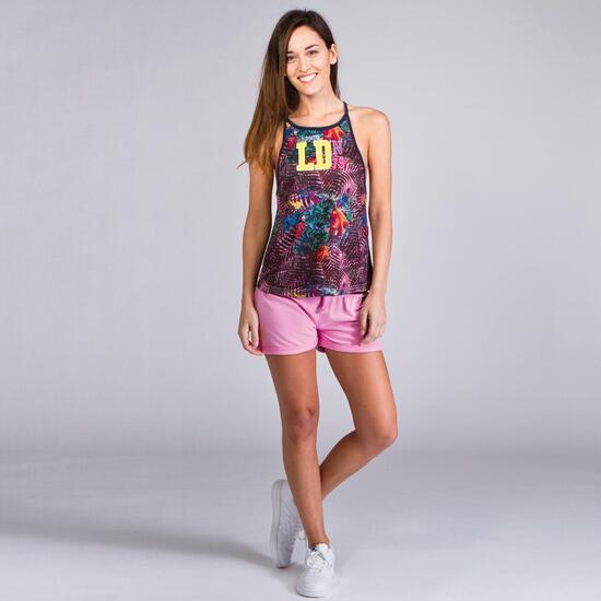 Camiseta Vuelo HARGUS TROPIC Rosa Mujer