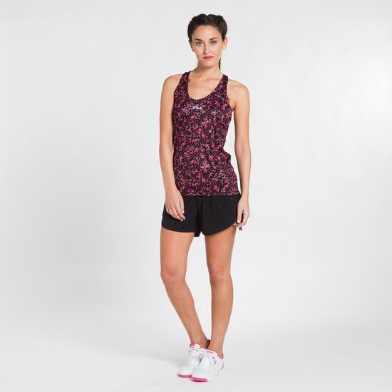 FILA BJORK Camiseta Tenis Tirantes Estampado Mujer