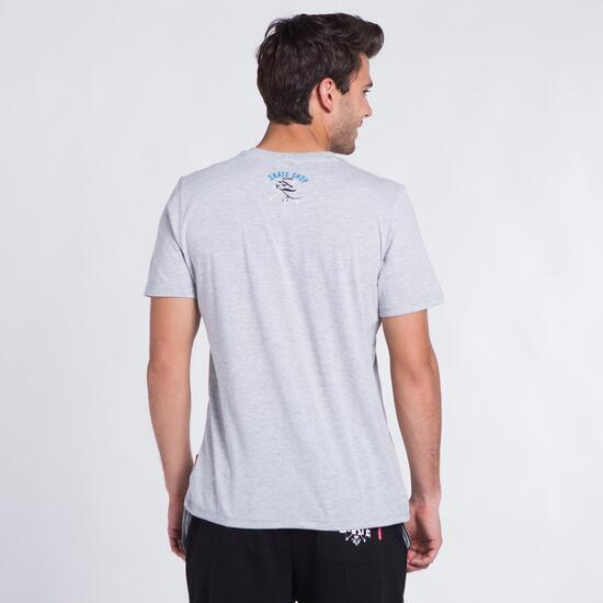 Camiseta Gris SILVER COLOR Hombre