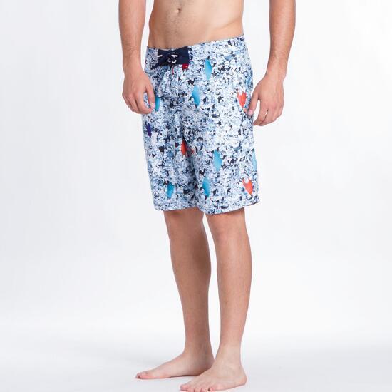 Bañador Bermuda SILVER Estampado Hombre
