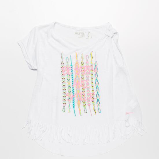 Camiseta Blanca SILVER ETNIC Niña (2-8)