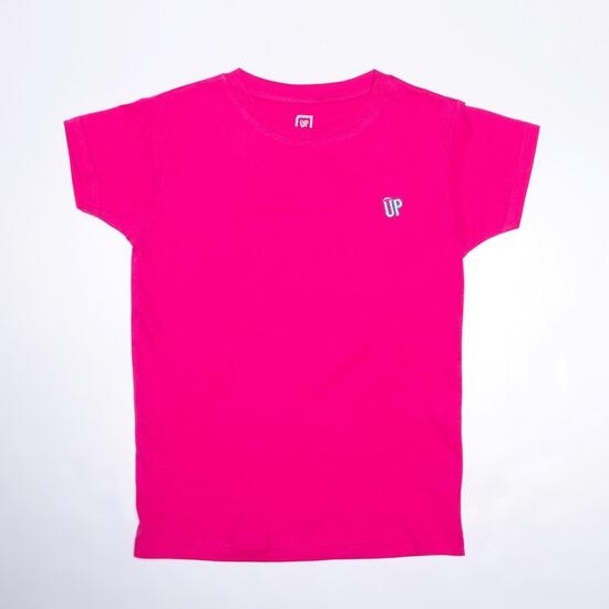 Camiseta Fucsia UP BASIC Niña (10-16)