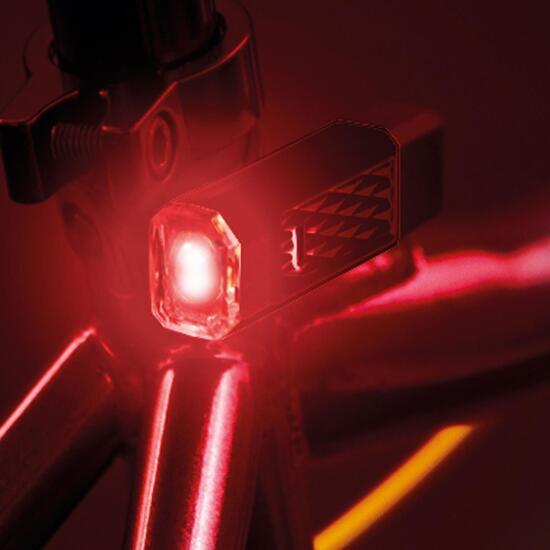 Luz Trasera Bicicleta MÍTICAL Negro