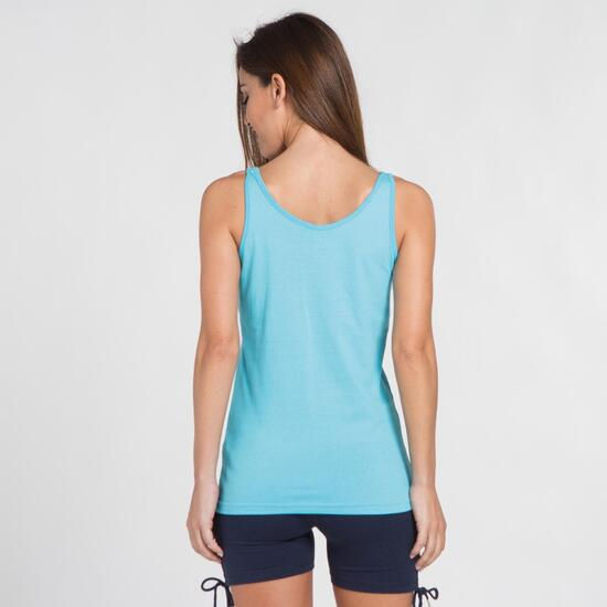 Camiseta Básica Tirantes UP BASIC Turquesa Mujer