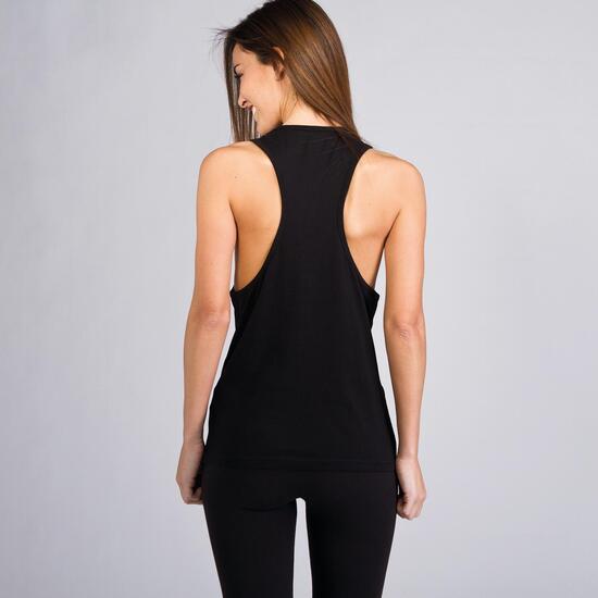 Camiseta Nadadora UP BASICS Negro Mujer