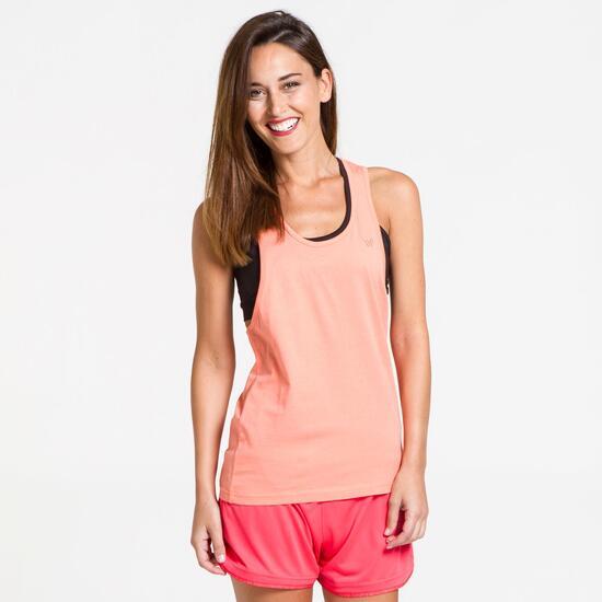 Camiseta Nadadora UP BASICS Naranja Mujer