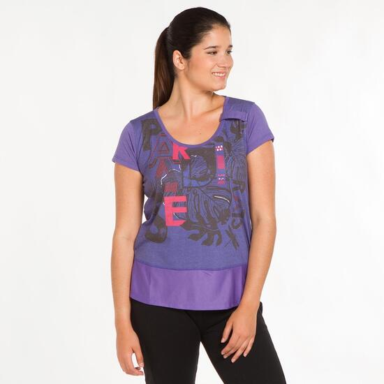 Camiseta Morada SILVER Mujer (M-XXL)