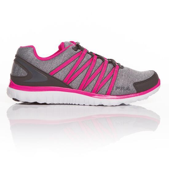 FILA ASYMETRIC Zapatillas Fitness Gris Mujer