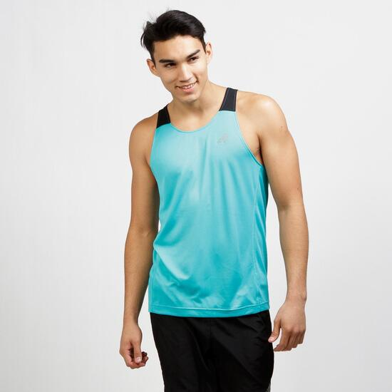 Running Turquesa Tirantes Abos Hombre Adidas Camiseta 3LR5qc4Aj