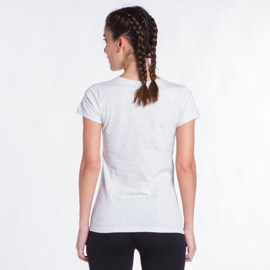 Camiseta Blanca UP STAMPS Helado Mujer