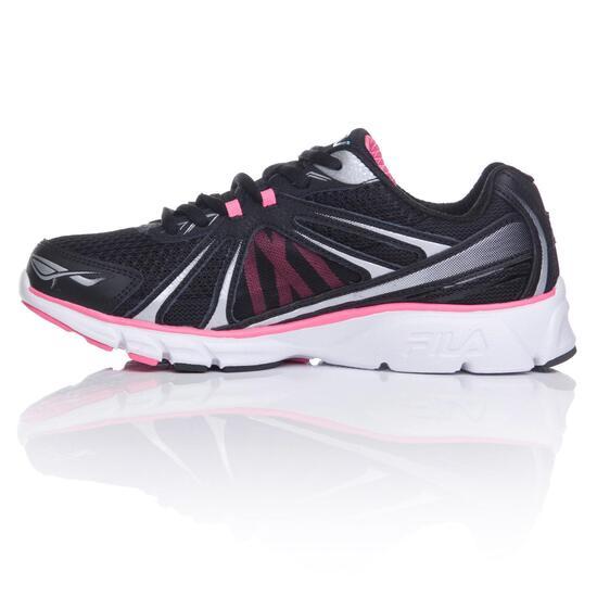 FILA CHRONOS Zapatillas Running Negras Mujer