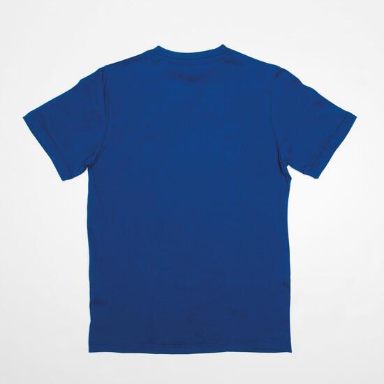 Camiseta Manga Corta UP STAMPS Marino Niño (10-16)