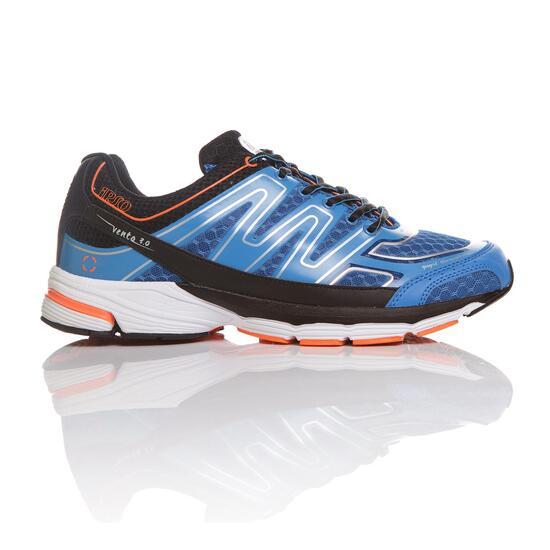 Zapatillas Running IPSO KNUP Azul Negro Hombre
