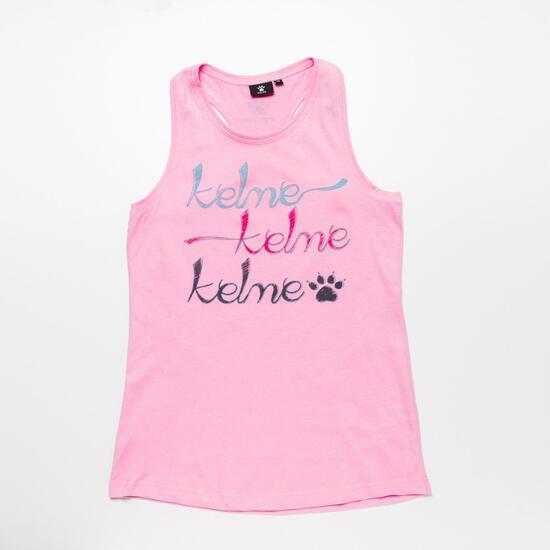 Camiseta Tirantes KELME Rosa Niña (10-16)