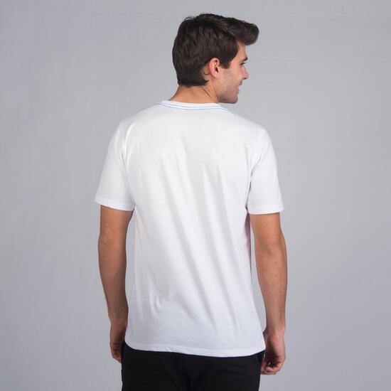 Camiseta Manga Corta SILVER STAMPS Blanco Hombre