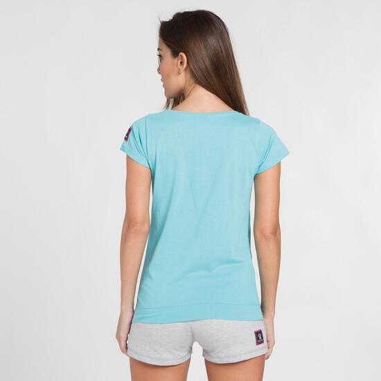 KELME CLASSIC Camiseta Turquesa Mujer