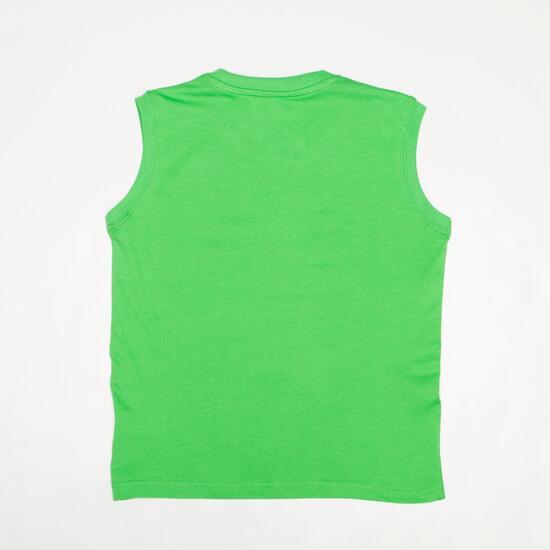Camiseta Sin Manga UP BASIC Verde Niño (2-8)