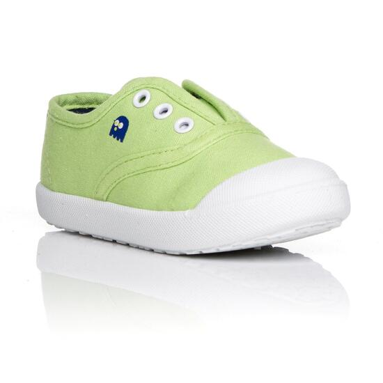 Zapatillas Lona UP Verde Niño (22-27)