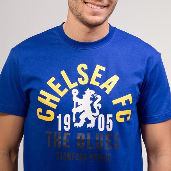 Camiseta Chelsea SOURCE LAB Azul Amarillo Hombre