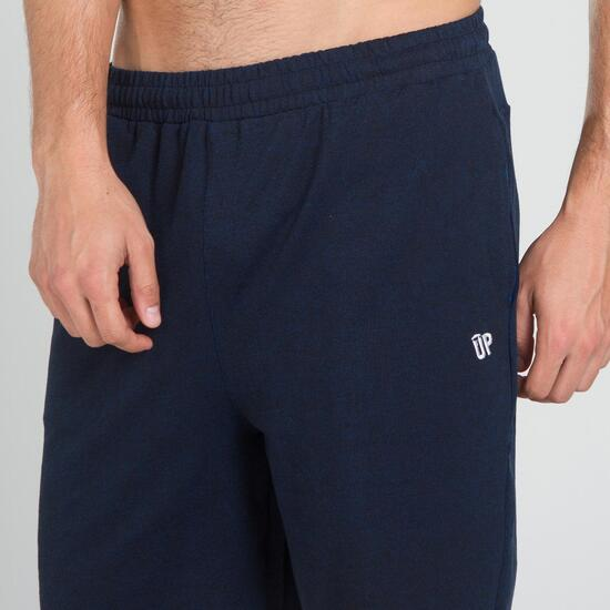 Pantalón Corto UP BASIC Negro Azul Hombre