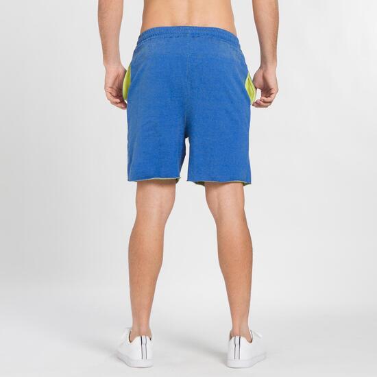 Pantalón Corto UP BASIC Azul Hombre