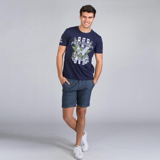 FILA FREE SPIRIT Camiseta Marino Hombre