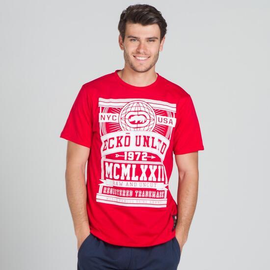 ECKO GLOBE Camiseta Roja Hombre