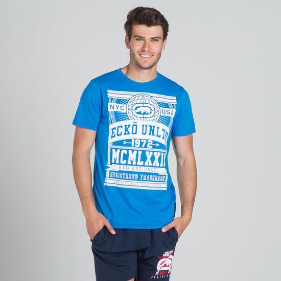 ECKO GLOBE Camiseta Azul Hombre
