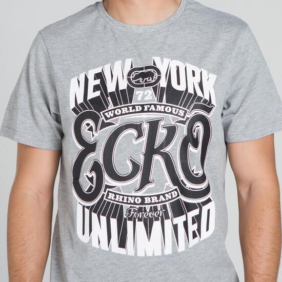 ECKO HUNT Camiseta Gris Hombre