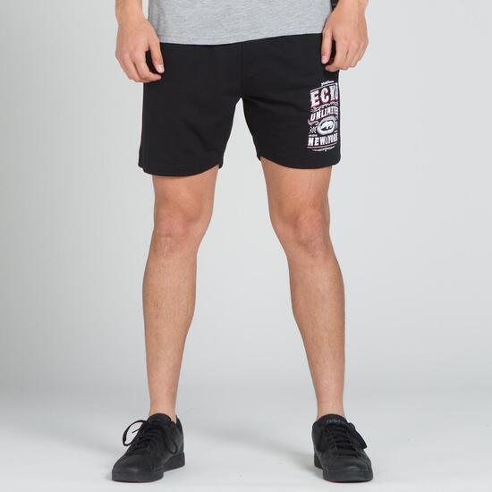 ECKO INTENDED Pantalón Corto Negro Hombre