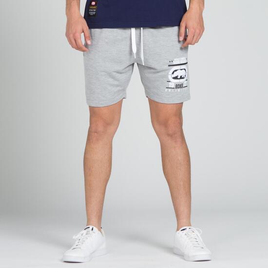 ECKO PURPOSE Pantalón Corto Gris Hombre