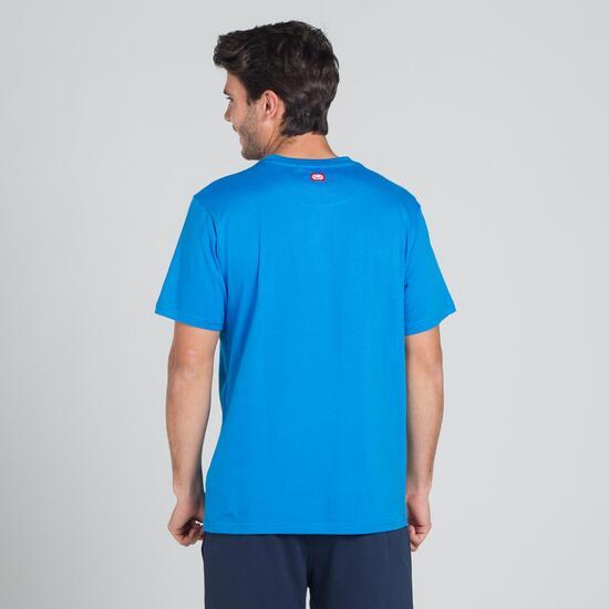 ECKO GRAFFITTI PAINT Camiseta Azul Hombre