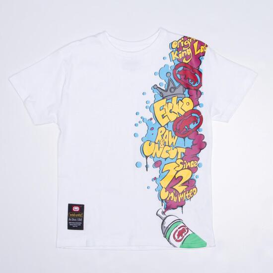 ECKO GRAFFITTI Camiseta Blanca Niño (10-16)