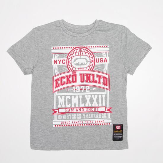ECKO CLAREMONT Camiseta Gris Niño (10-16)