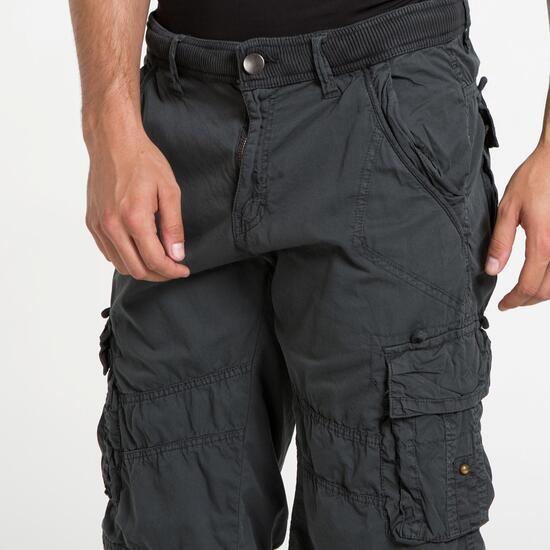 Pantalón Trekking SERVAL Gris Hombre