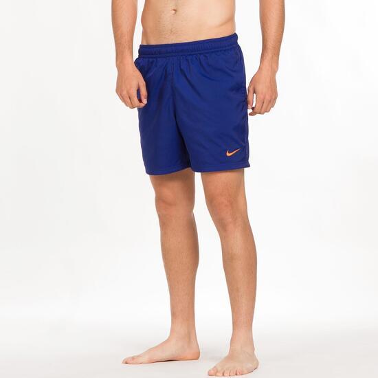 NIKE FLOW Pantalón Corto Azul Hombre