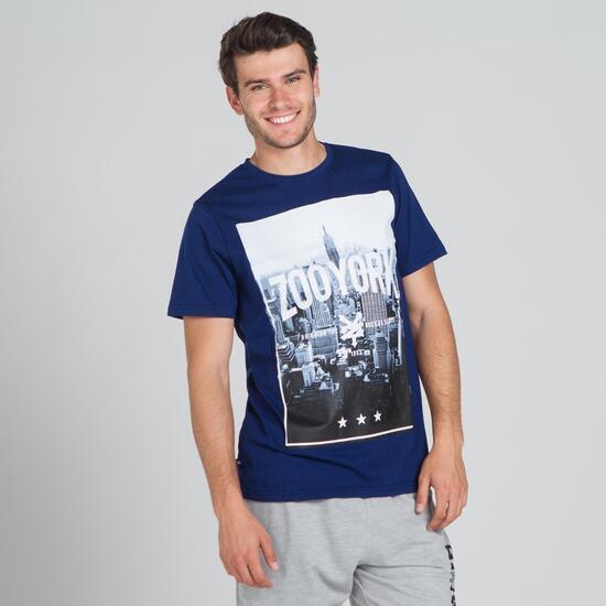 ZOOYORK TILDEN Camiseta Azul Hombre