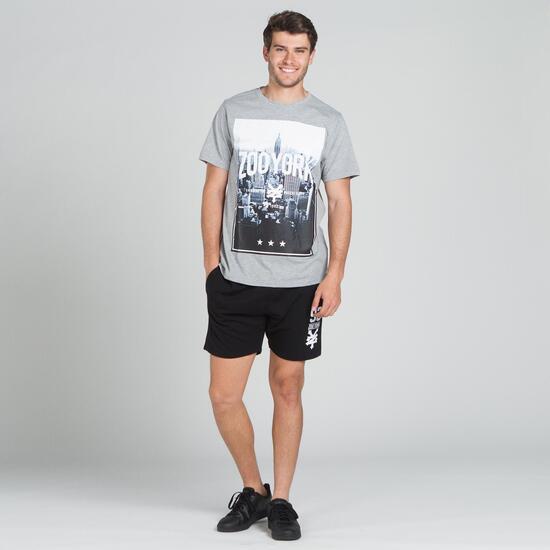 ZOOYORK TILDEN Camiseta Gris Hombre