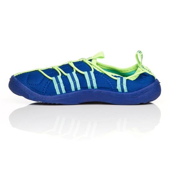 Aquashoes Niño SILVER Azul (28-35)