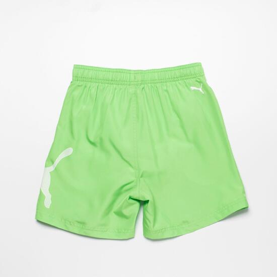 PUMA Bañador Corto Verde Niño (10-16)
