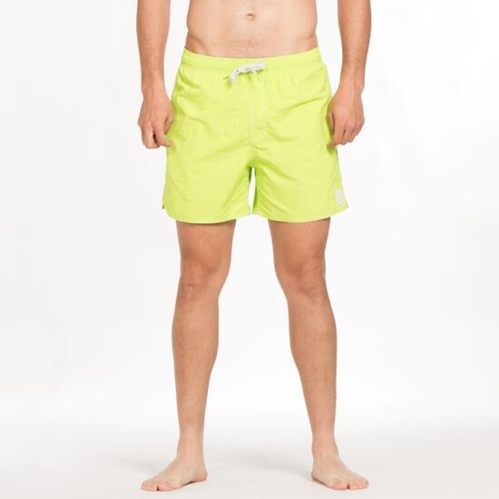 ADIDAS SOLID Bañador Corto Playa Verde Hombre