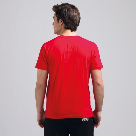 Camiseta Manga Corta RUSSELL Rojo Hombre