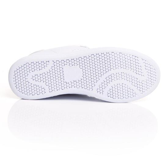 MISTRAL Zapatillas Casual Blancas Plata Mujer