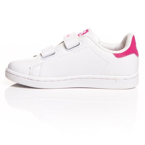 MISTRAL Zapatillas Casual Blanco Rosa Niña (24-29)