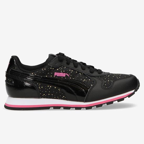 PUMA RUNNER Sneakers Estampadas Negro Mujer