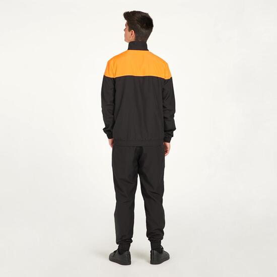 PUMA ACTIVE Chándal Microfibra Negro Naranja Hombre